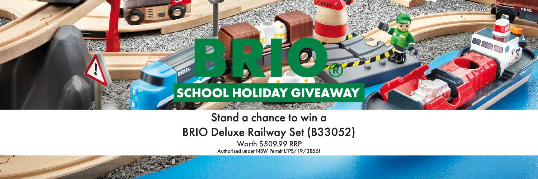 BRIO School Holiday Giveaway