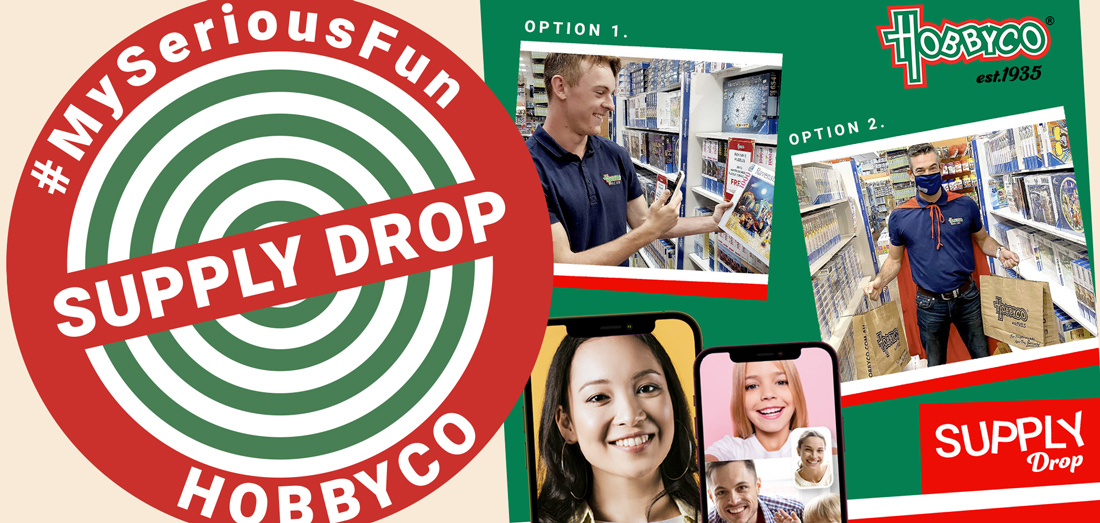 Supply Drop Service for Hobby Products in Sydney