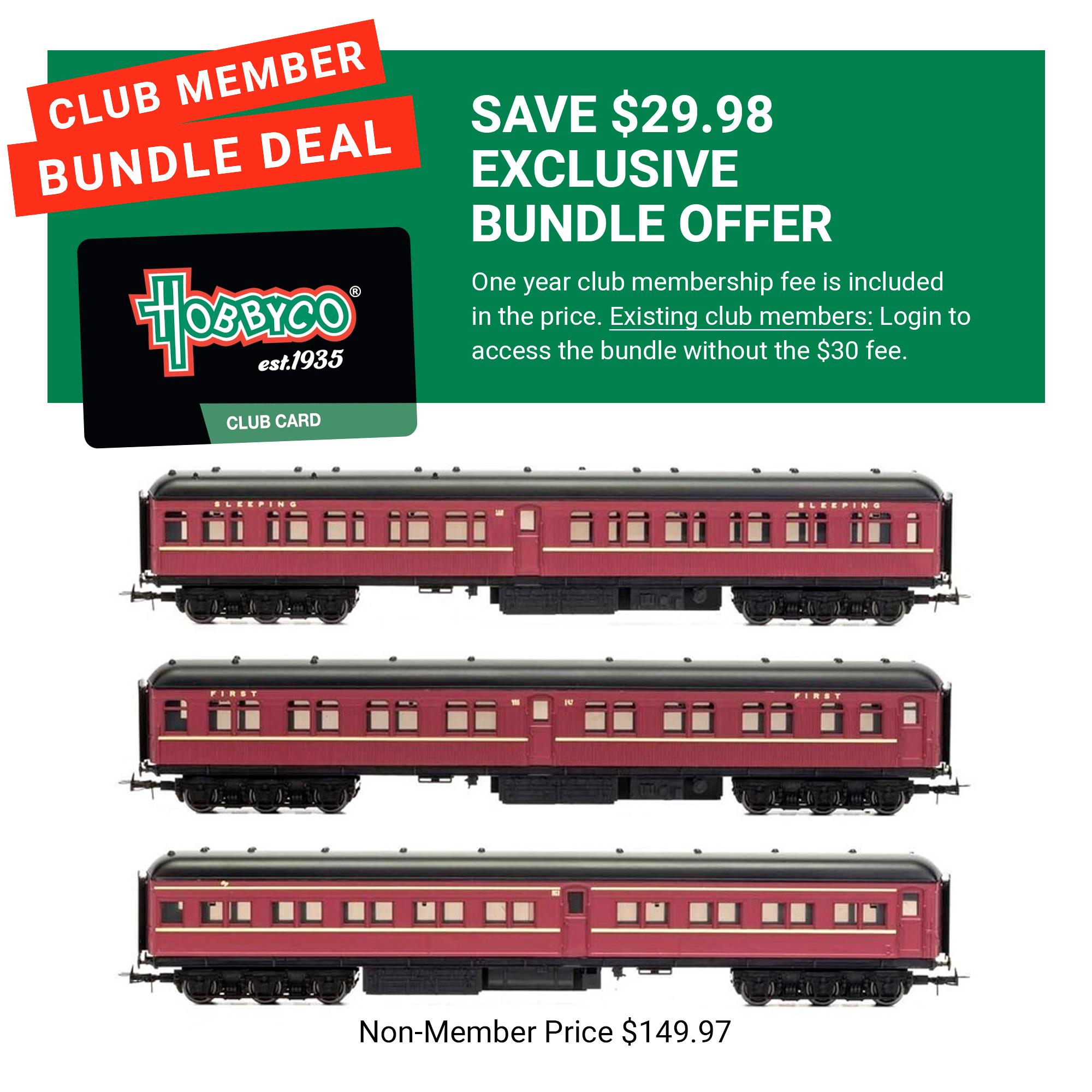 Bundle Offer HO Train