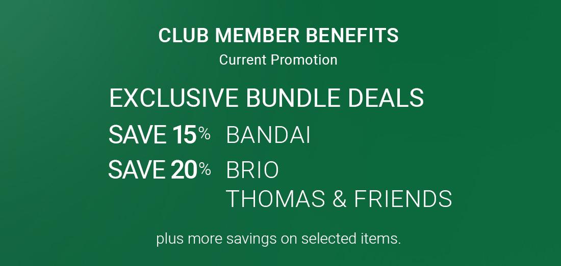 Club Member Benefits