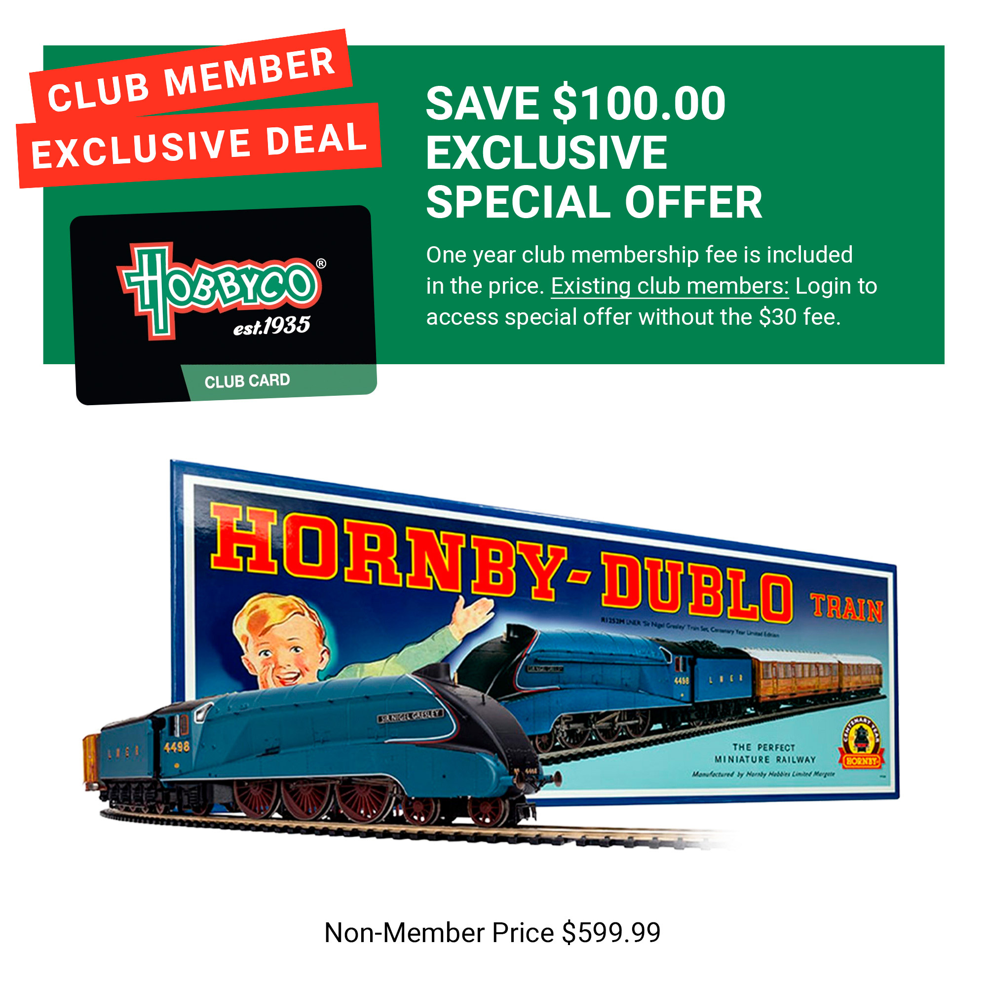 Dublo Model Train Shop