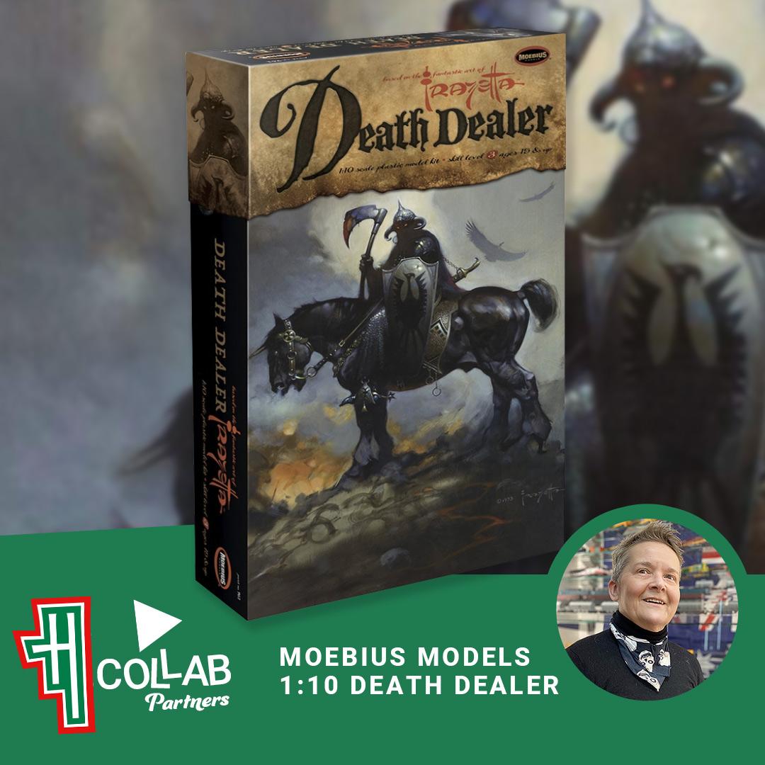 Moebius Model Death Dealer Blog Article by Helen Grant Hobby Modeller