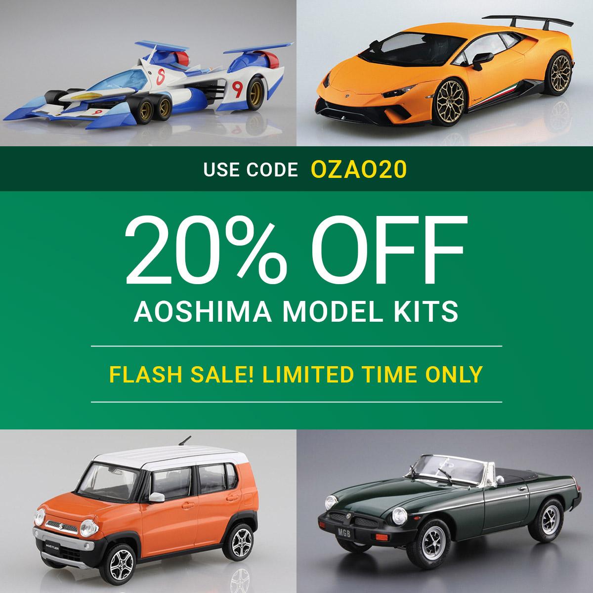 Aoshima Model Kit Sale
