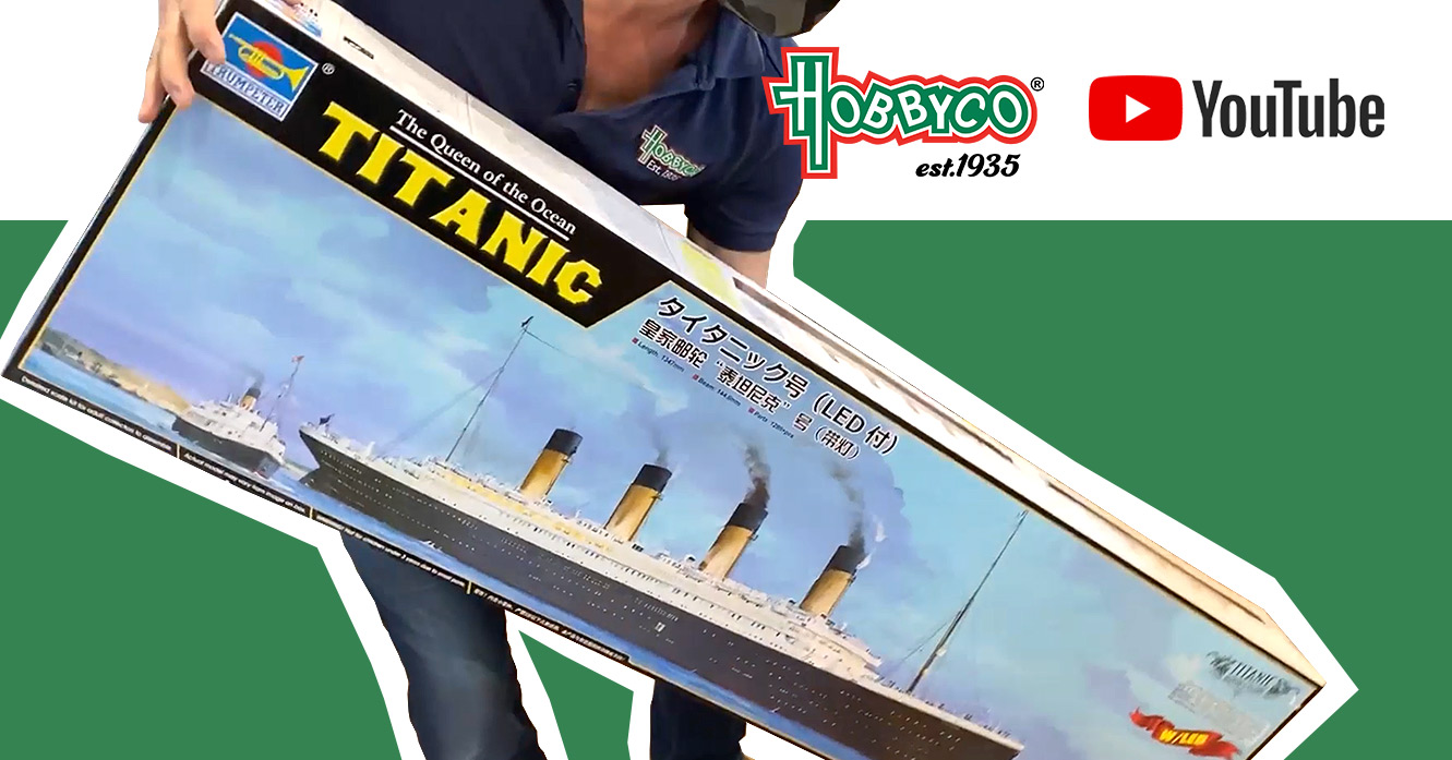 Titanic Models for Father's Day